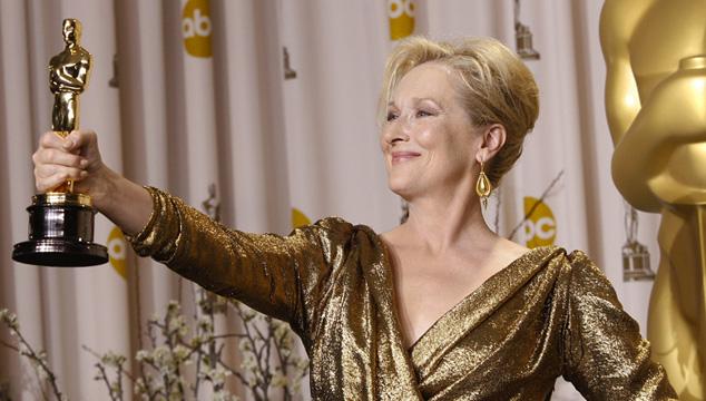 imagen En fotos: Las apariciones de Meryl Streep en los Oscar a través de los años