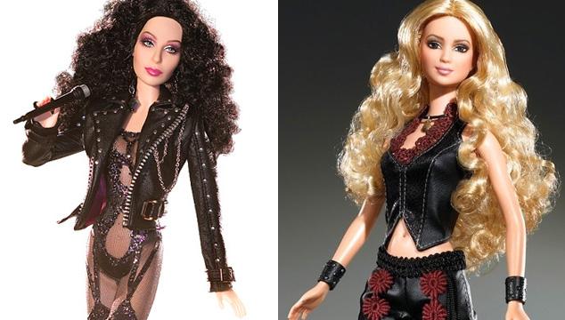 imagen 15 cantantes que no sabías que tenían su propia Barbie