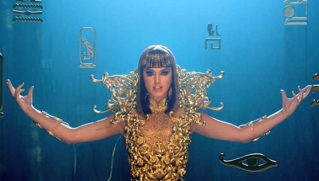 "imagen Katy Perry estrena videoclip de ""Dark Horse"""
