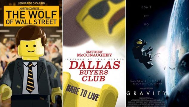 imagen Los pósters de las nominadas a 'Mejor película' en los Oscars, recreados en LEGOS (GALERÍA)