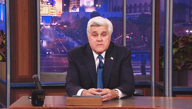 imagen La emocional despedida de Jay Leno de 'The Tonight Show' (VIDEO)