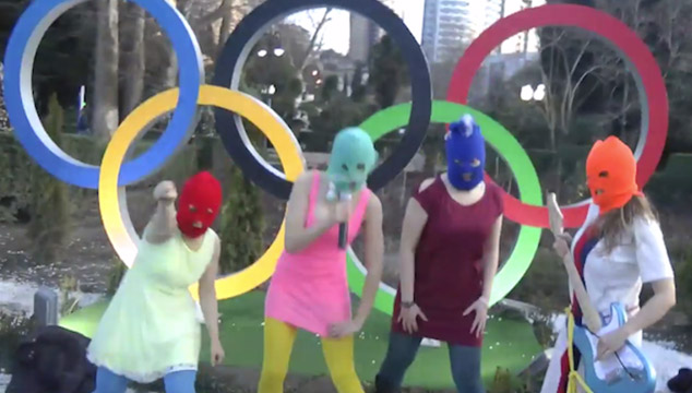 "imagen Las Pussy Riot estrenan el video para ""Putin Will Teach You to Love the Motherland"""
