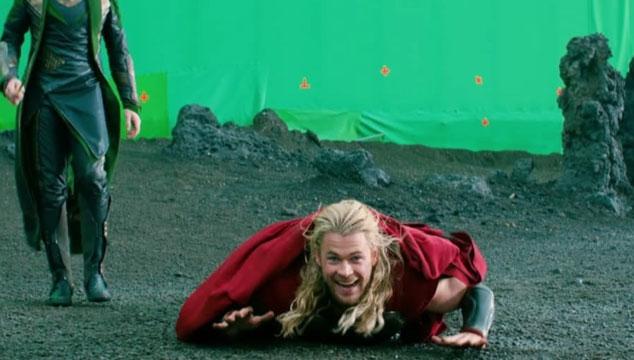 imagen Un video con todas las tomas falsas y bloopers de 'Thor 2: The Dark World'