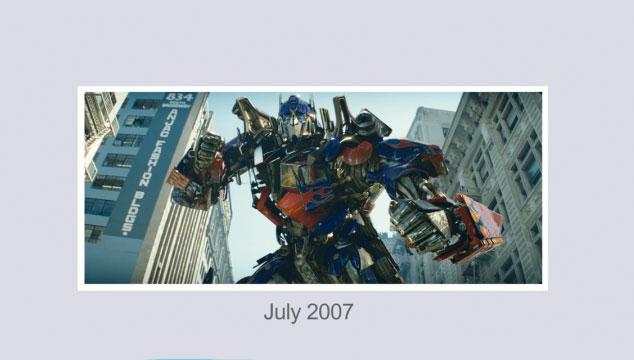 imagen La película de Facebook de Optimus Prime para promocionar 'Transformers 4'