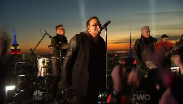 imagen La aparición de U2 y Will Smith en 'Tonight Show Starring Jimmy Fallon' (VIDEOS)