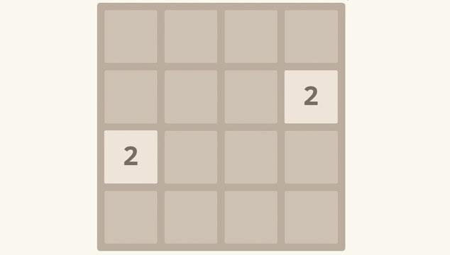 imagen Te presentamos 2048, el juego que te hará quedarte sin trabajo