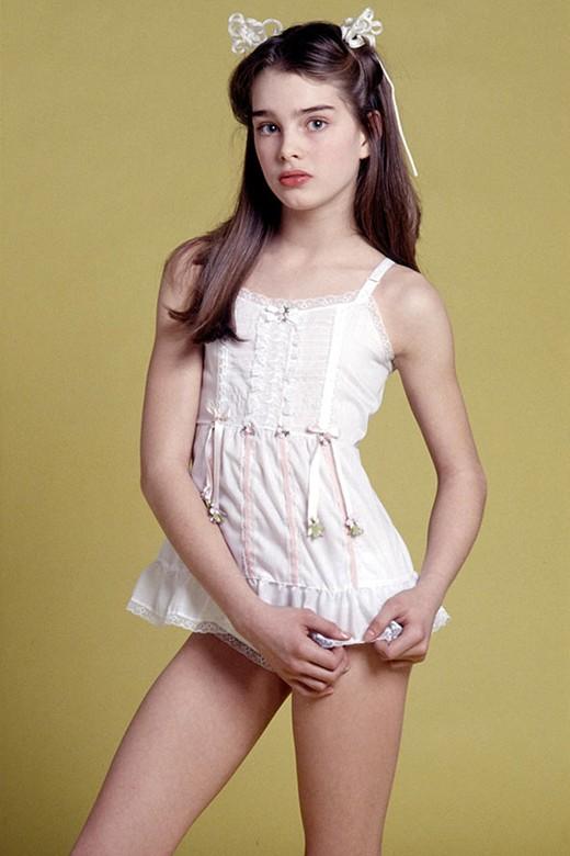 Brooke Shields as Pretty Baby