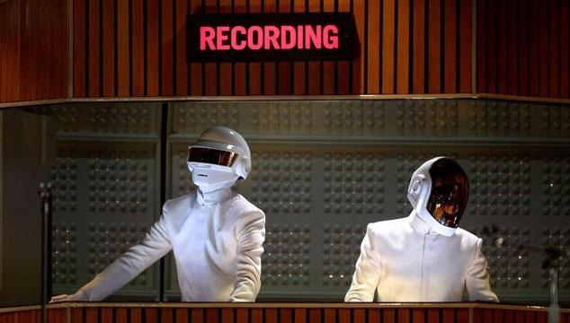imagen Un video de los ensayos de Daft Punk para su presentación en los Grammys