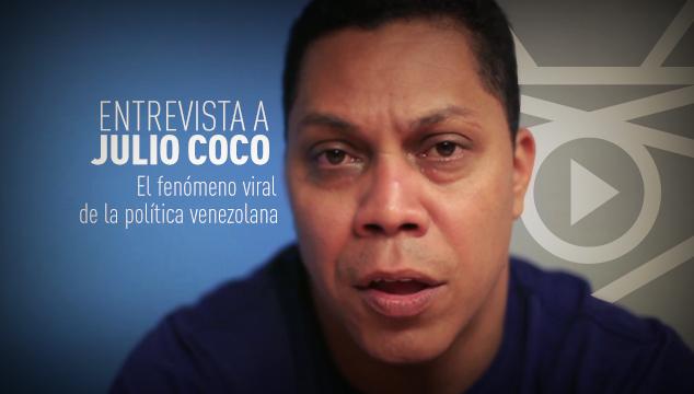 imagen Entrevista a Julio Coco, el fenómeno viral de la política venezolana