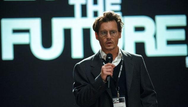 imagen Dos videos virales de 'Transcendence', la nueva película de Johnny Depp