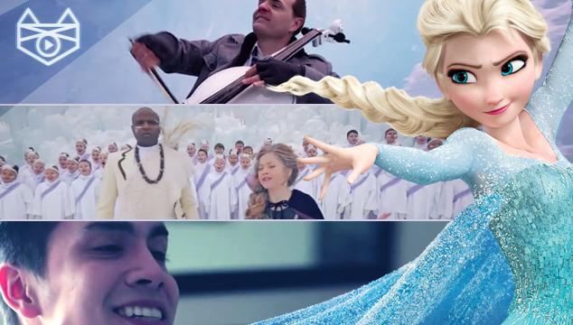 imagen 24 versiones, entre geniales y muy raras, del tema de 'Frozen'