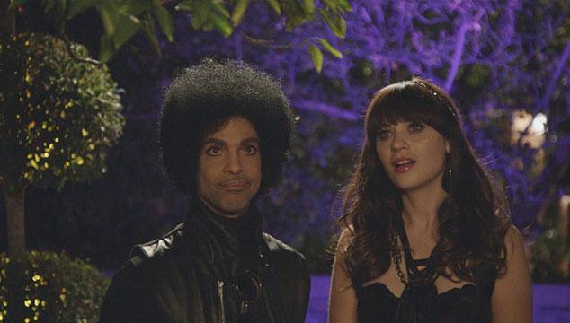 """imagen Prince estrena """"FALLINLOVE2NITE"""", su nuevo sencillo con Zooey Deschanel"""