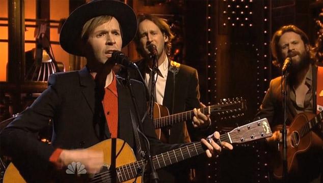 imagen La presentación de Beck en 'Saturday Night Live' (VIDEOS)