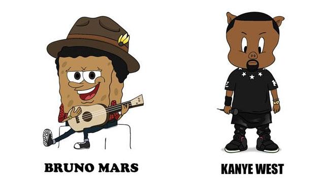 imagen Íconos del rap y R&B, reimaginados como personajes de series animadas (GALERÍA)