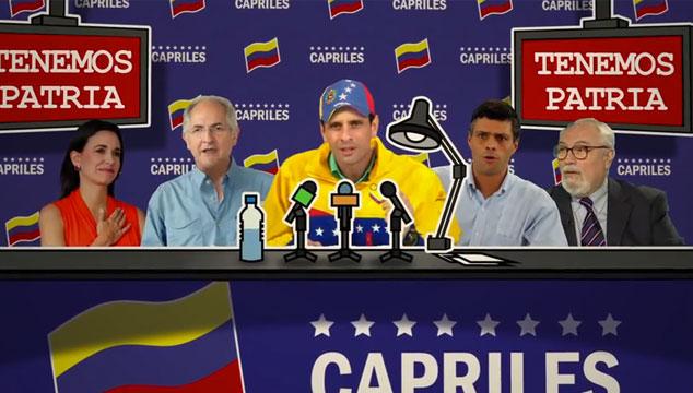 """imagen Escucha """"El baile de los enchufaditos"""", la canción del imitador de Henrique Capriles"""