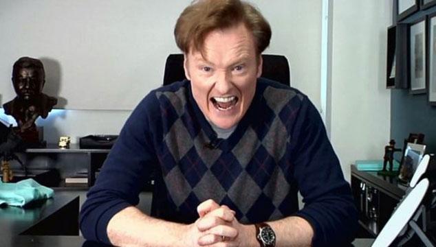 imagen Conan O'Brien será el presentador de los MTV Movie Awards 2014 en Abril