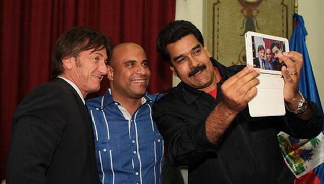 imagen El selfie de Maduro con Sean Penn (FOTO + VIDEO)