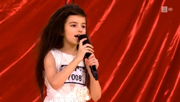 imagen La impresionante audición de una niña de 7 años en 'Noruega Got Talent'