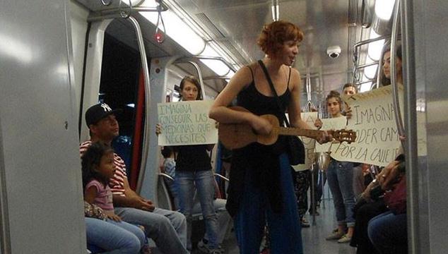 """imagen """"Músicos en la calle"""", el movimiento de artistas venezolanos por la paz"""