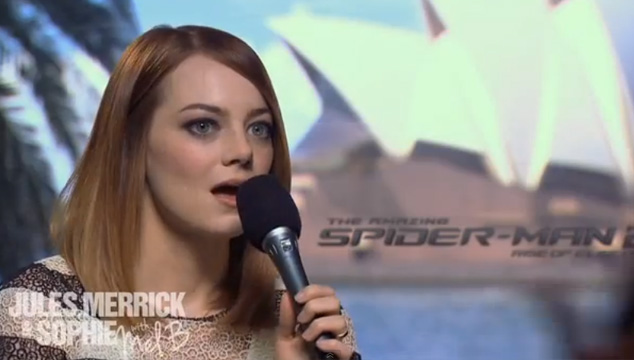 imagen La Spice Girl que hizo llorar a Emma Stone (VIDEO)