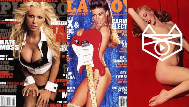 imagen 11 famosas que posaron increíblemente en Playboy