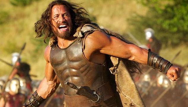 imagen Nuevas imágenes de Dwayne 'The Rock' Johnson en la nueva película de 'Hércules'