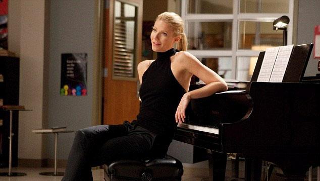 """imagen Gwyneth Paltrow canta """"Happy"""" de Pharrell en el episodio 100 de 'Glee'"""