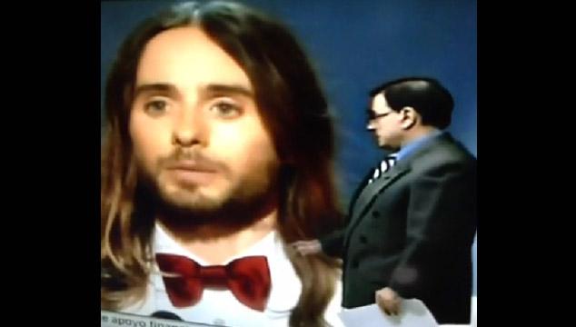 imagen El comentario homofóbico de Walter Martínez sobre Jared Leto (VIDEO)