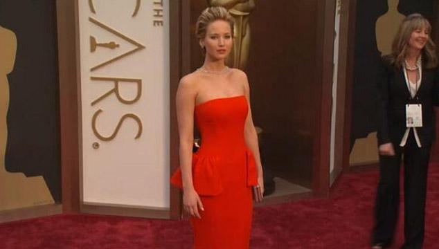 imagen La caída de Jennifer Lawrence en los Oscars 2014 (VIDEO)