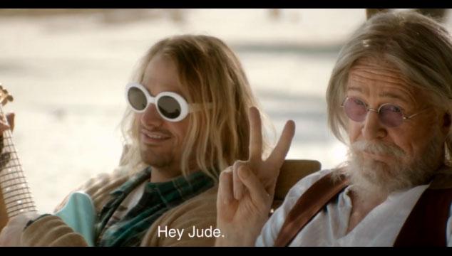 imagen Kurt Cobain, John Lennon, Elvis, Bruce Lee y Tupac protagonizan el mejor comercial de TV del año