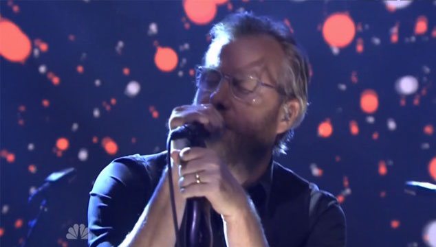 imagen La presentación de The National en 'The Tonight Show Starring Jimmy Fallon' (VIDEO)
