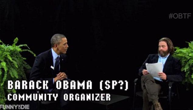 imagen La graciosa entrevista de Zach Galifianakis a Barack Obama (VIDEO)