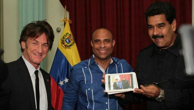 imagen Sean Penn dictará clases de actuación a jóvenes venezolanos
