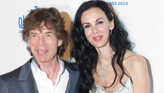 imagen La empresa de la novia de Mick Jagger estaba endeudada por más de cinco millones de dólares
