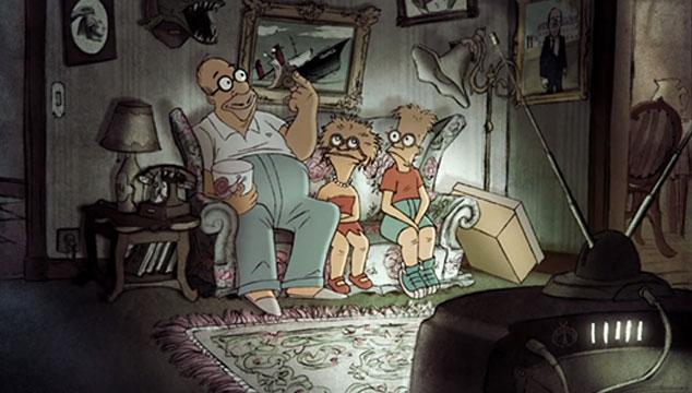 imagen El intro de 'Los Simpsons', versión francesa (VIDEO)