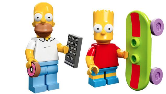 imagen Así son las nuevas figuras de LEGO de 'Los Simpsons' (FOTOS)