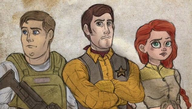 imagen Así se verían estos personajes de Disney si protagonizaran 'The Walking Dead' (GALERÍA)