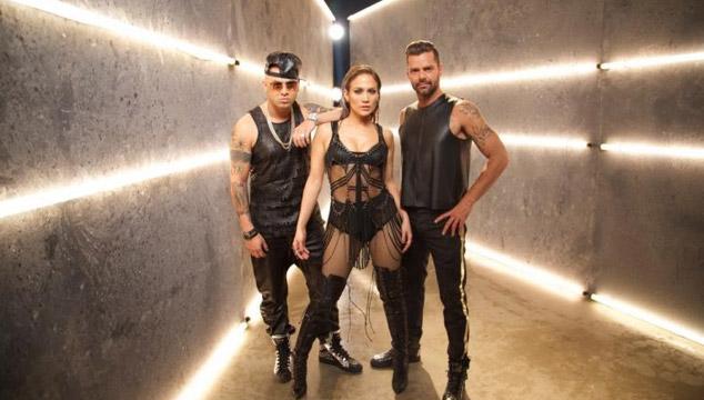 """imagen Wisin estrena el videoclip de """"Adrenalina"""" junto a Jennifer López y Ricky Martin"""