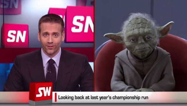 imagen Yoda da una rara entrevista en ESPN para promocionar un torneo (VIDEO)