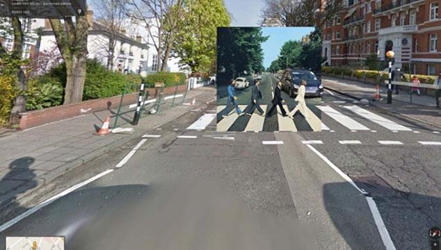 imagen Portadas de discos recreadas con Google Street View (FOTOS)