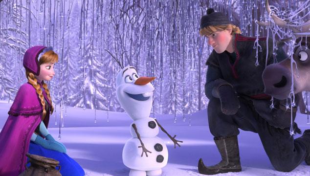 imagen Ya 'Frozen' es la película animada más taquillera de todos los tiempos