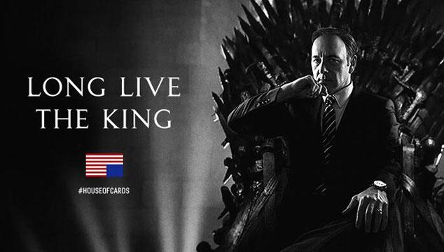 imagen El tuit de Frank Underwood ('House of Cards') para 'Game of Thrones'