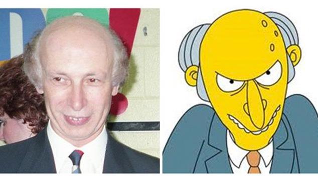 imagen 15 personas que se parecen exactamente a algún personaje de Los Simpsons