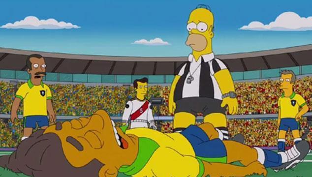 imagen Los Simpson pronostican quién ganará Brasil 2014 (y que un equipo querrá sobornar al árbitro)
