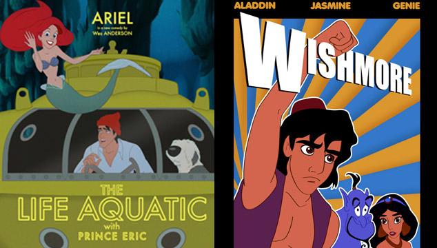 imagen ¿Cómo serían las películas de Disney si fuesen escritas por Wes Anderson? (POSTERS)