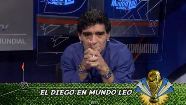 imagen El mensaje de Maradona para Messi (VIDEO)