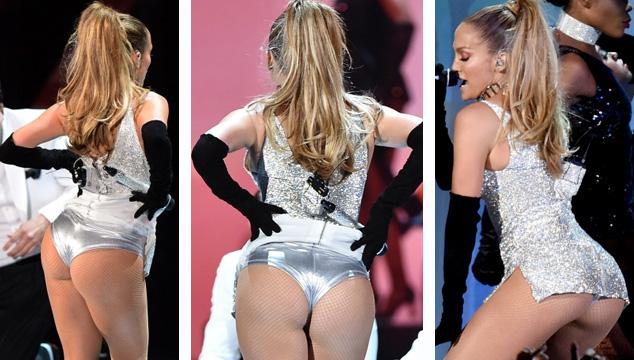 """imagen No Jennifer Lopez, sino su """"Booty"""" fue el protagonista del Fashion Rocks 2014"""