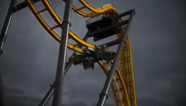 imagen La nueva montaña rusa 4D de Batman que pondrá a prueba tu estómago (VIDEO)