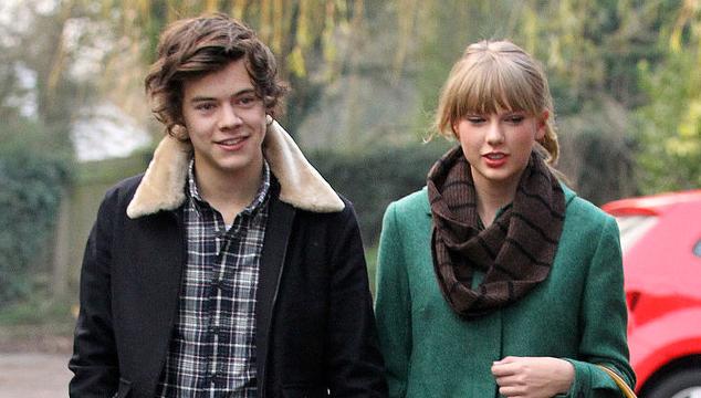 imagen Las pocas fotos del corto romance entre Taylor Swift y Harry Styles