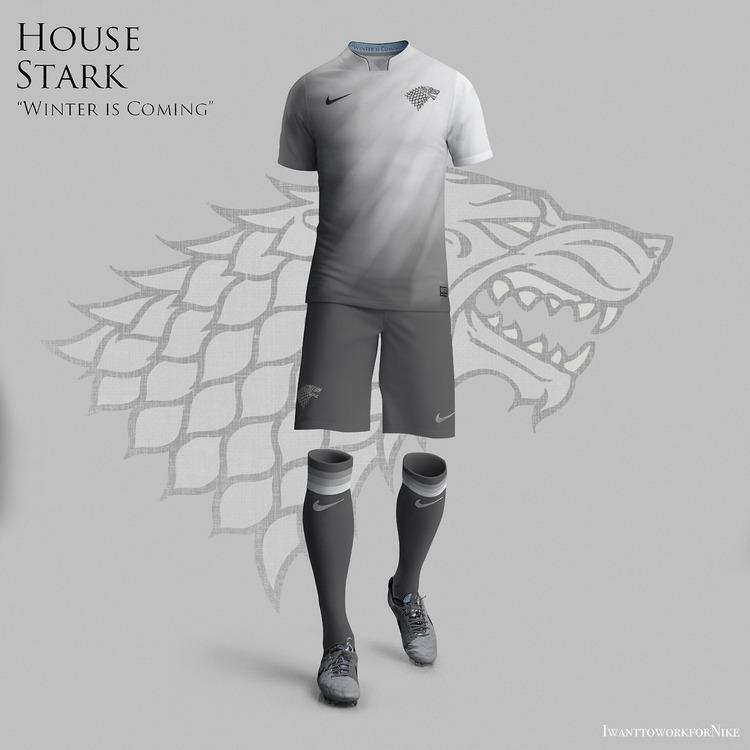 5c068dedc6c93 Los uniformes de fútbol inspirados en  Game of Thrones  que deberían ...